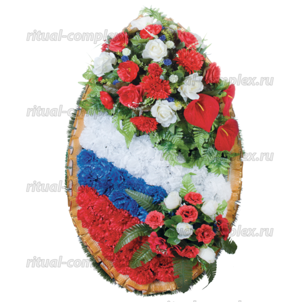 Венок патриотический №1