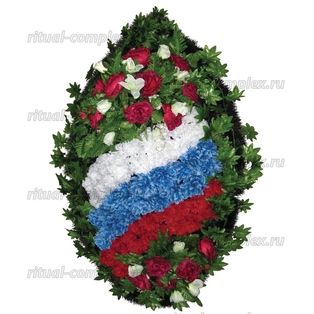 Венок патриотический №8