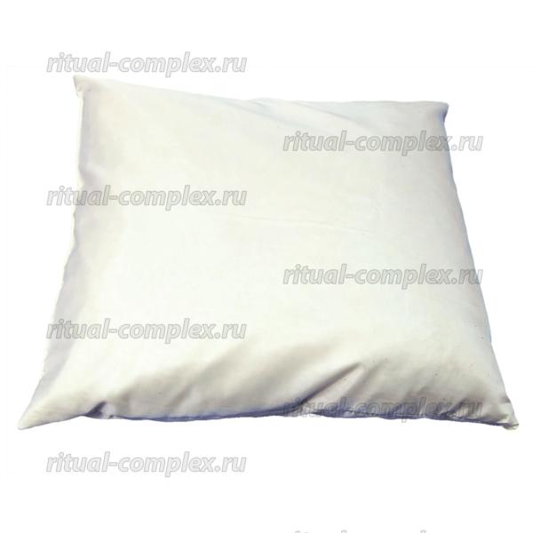 подушка в гроб шелковая