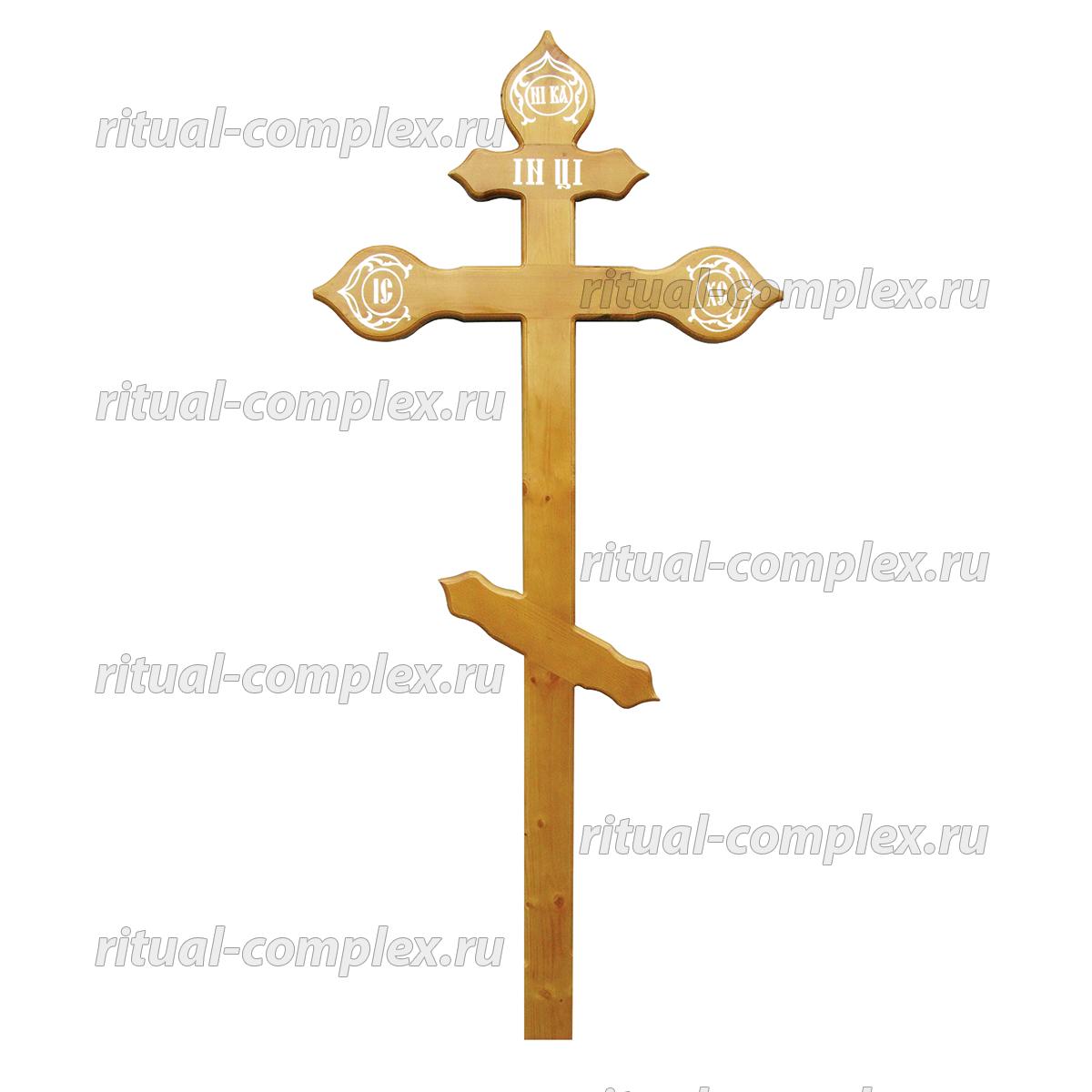 крест из дерева купола