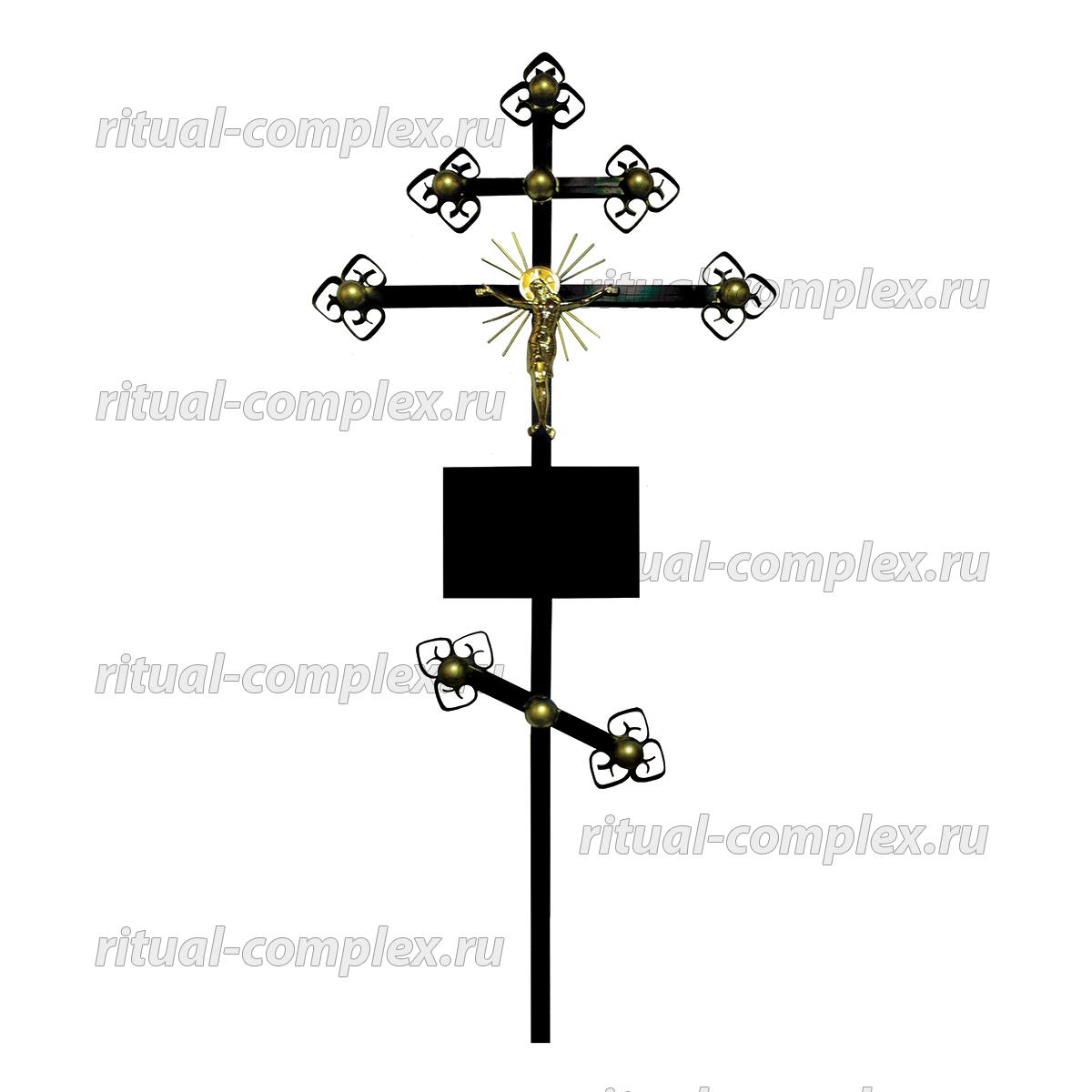 крест из металла золотой